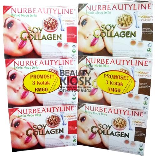 Soy Collagen Segera 3 Kotak Nurbeautyline