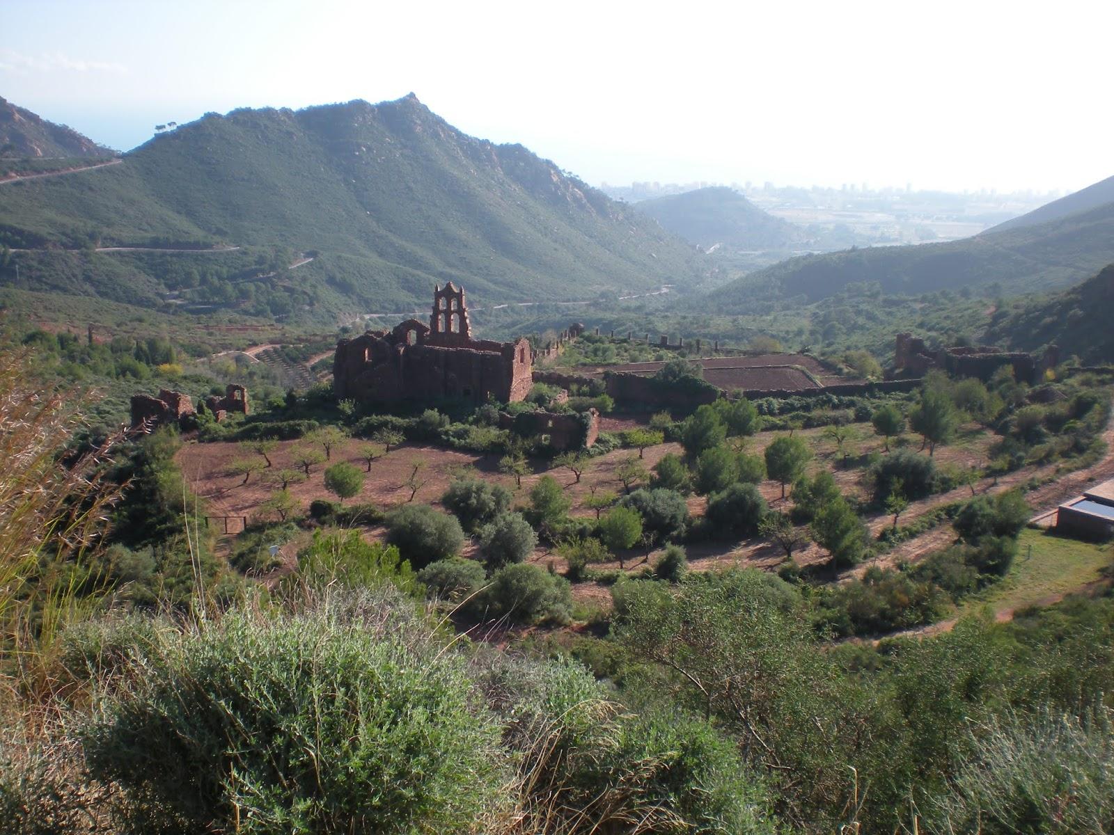 Carmelitas Monastery overlooking Mediterranean Sea, Castellón, Spain