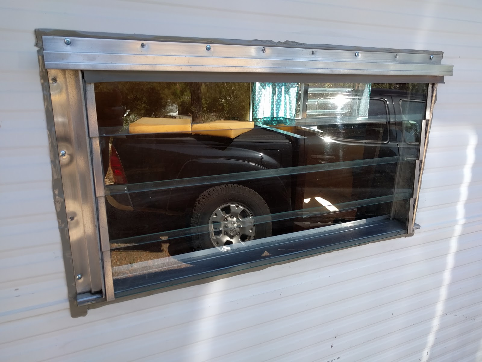 1965 Field And Stream Travel Trailer Windows Windows Windows