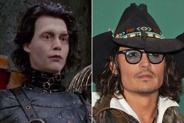 Johnny Depp (Edward Scissorhands)