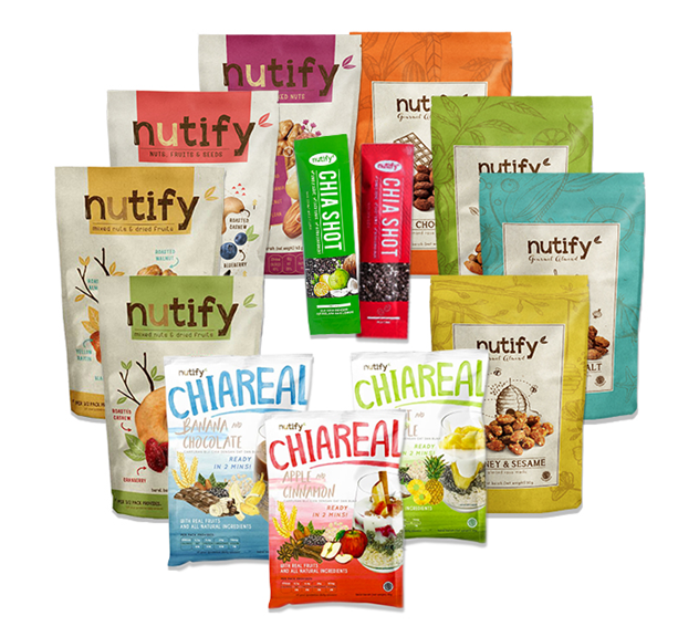 Nutify Almond Gourmet Garlic & Sea Salt