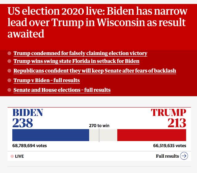 Guardian Live Blog