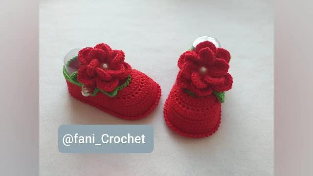 Tutorial Zapatitos Susii de Bebé a Crochet