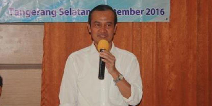 Kepala BPKAD Tangsel, Drs.Warman Syanudin.MM.