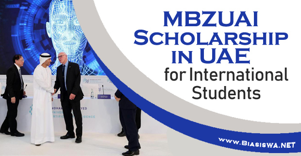 MBZUAI Scholarship in UAE