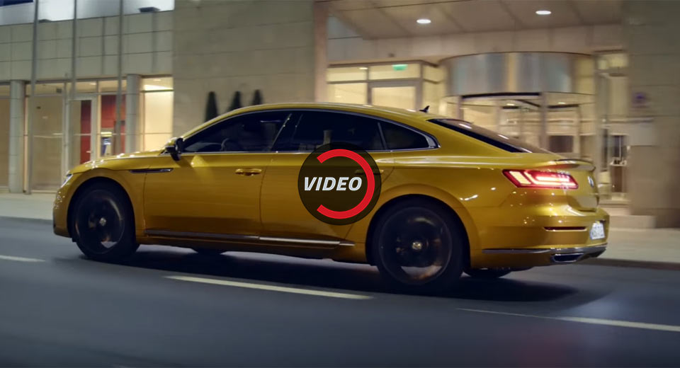 2018 Vw Arteon Looks Sensational In New Promo Clip