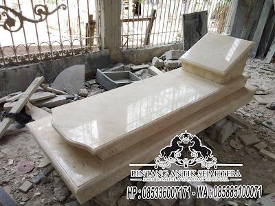 Kijing Makam Di Surabaya, Makam Marmer Minimalis, Model Kijing Marmer