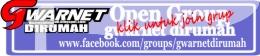 grup tempat share tutorial memasang gwarnet gratis