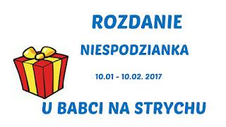 http://cathy-ubabcinastrychu.blogspot.com/2017/01/572-rozdanie-niespodzianka.html