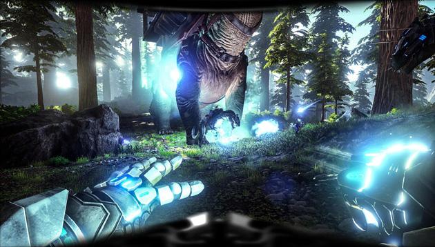 Nossa última imagem, porém não menos importante, uma tela com diversas luzes, e uma cena épica!