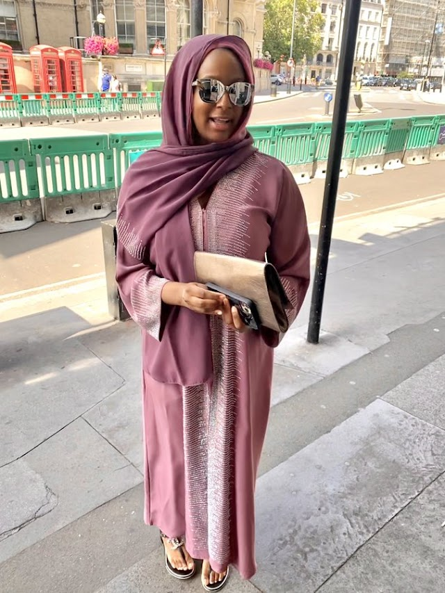 Fans React As DJ Cuppy Marks Ramadan In Hijab Outfit (Photo)