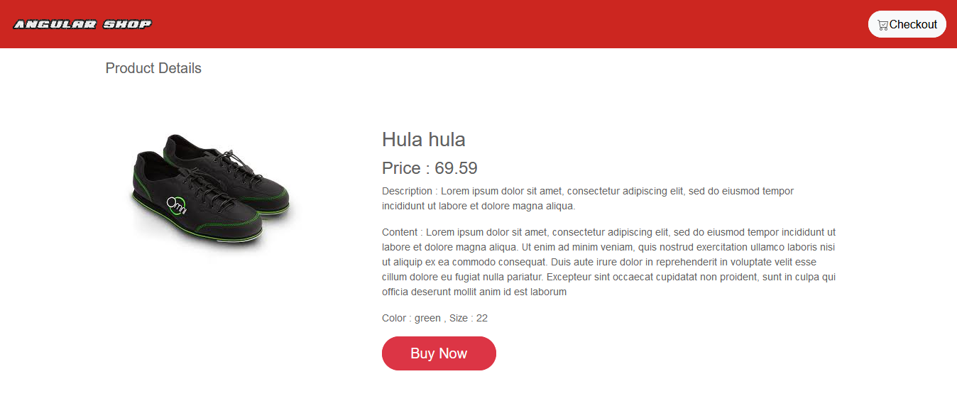 learn angular build modern new online shop project for free
