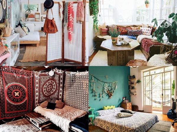 Resultado de imagem para inspirações quartos hippie