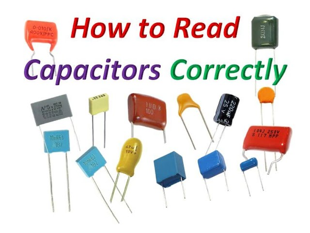 How to Read Ceramic and Polyester Capacitors Correctly