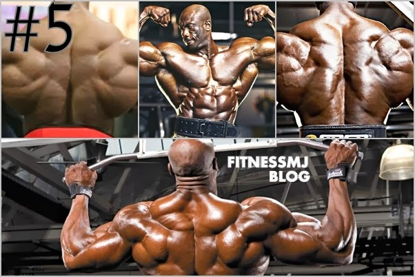 Top 5 Bodybuilders with best back muscles