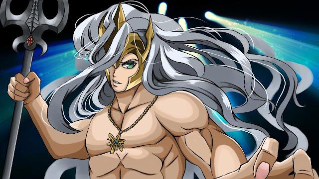 Poseidon (free anime images)