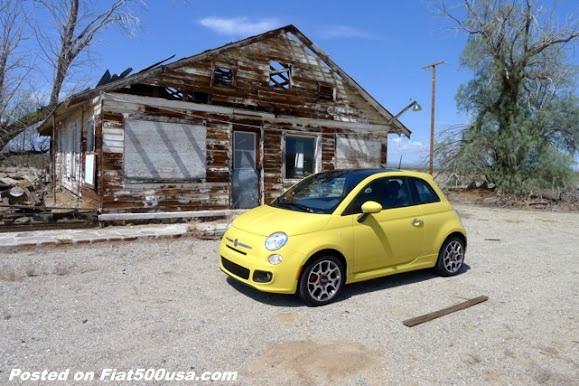 Fiat across America Trip