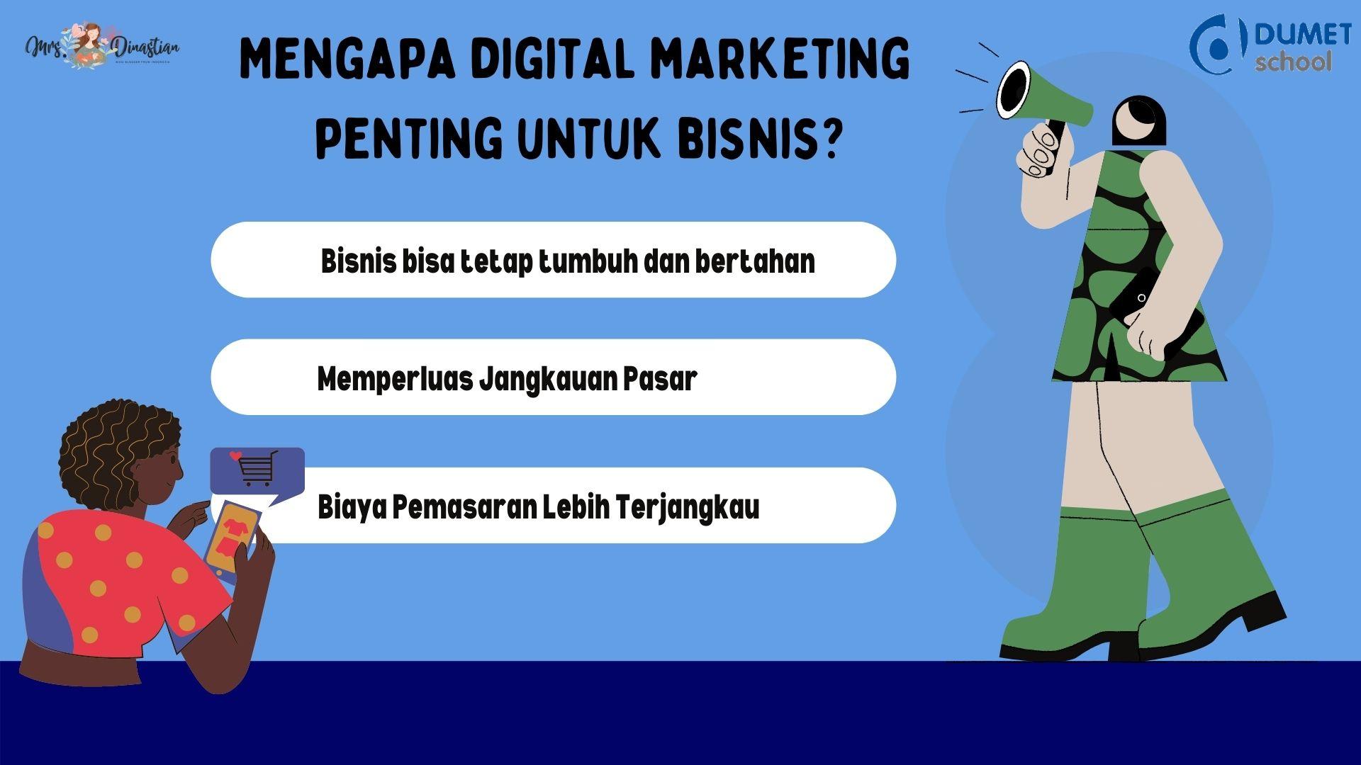 Mengapa Digital Marketing Penting Untuk Bisnis?
