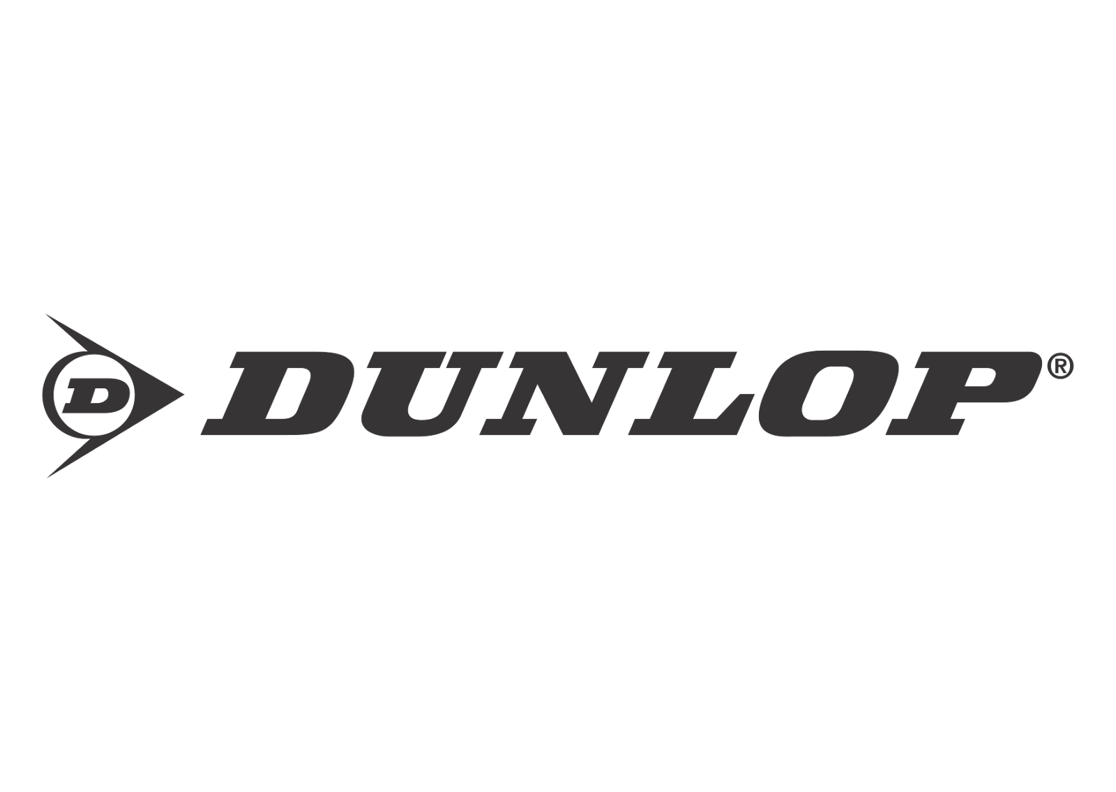 Dunlop Black White Logo Vector Format Cdr Ai Eps Svg