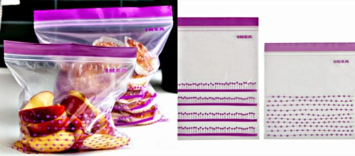 Ikea Istad clip seal bags