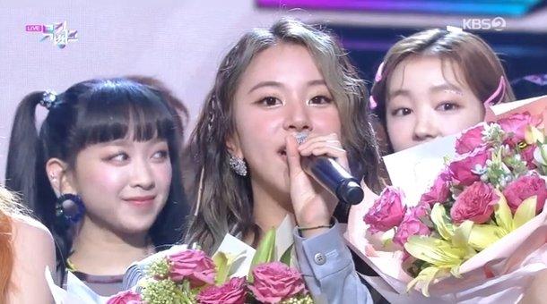 Twice 'Music Bank' şovunda 100'üncü birinciliğini aldı