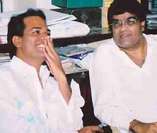 Bharat Jadhav With Ashok Saraf