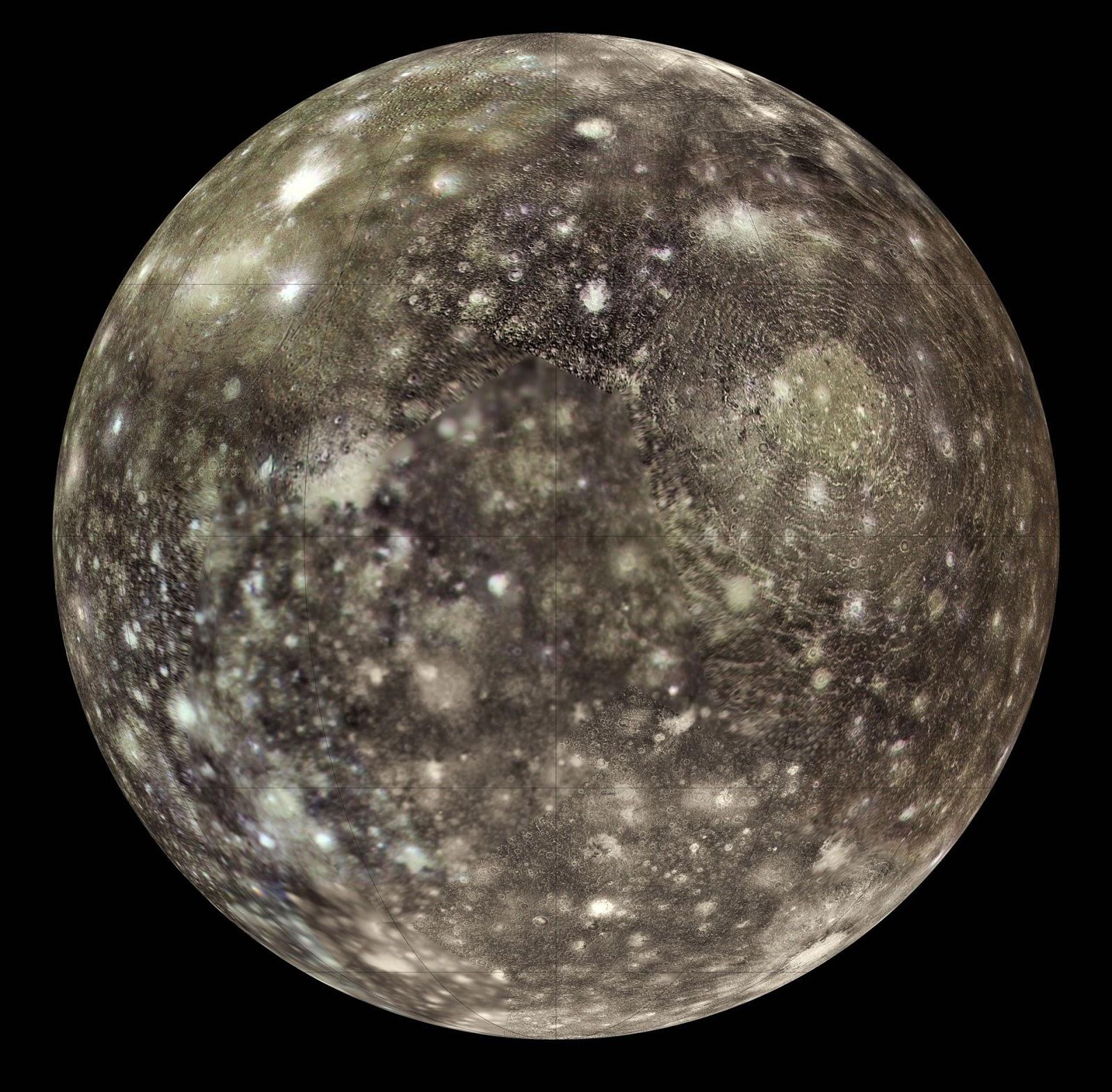 nasa callisto moon - photo #6