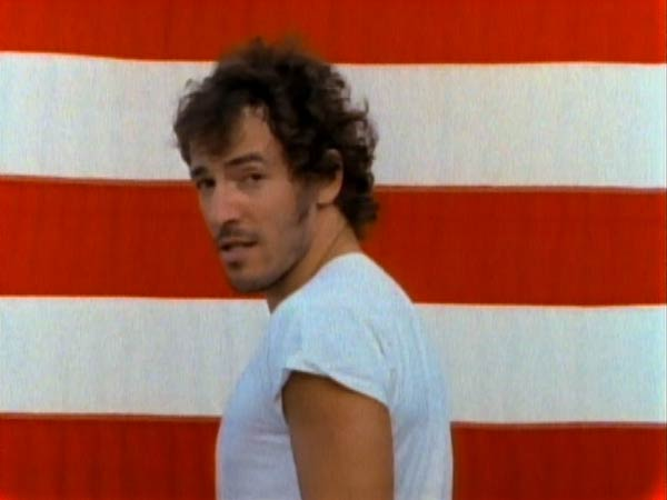 Bruce Springsteen in Born in the U.S.A.