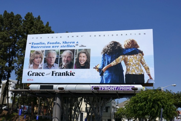Grace and Frankie season 4 Emmy FYC billboard