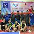 VCK giải Hà Đông Super League 2019 tổ chức ở nhà thi đấu đa năng Thanh Hà
