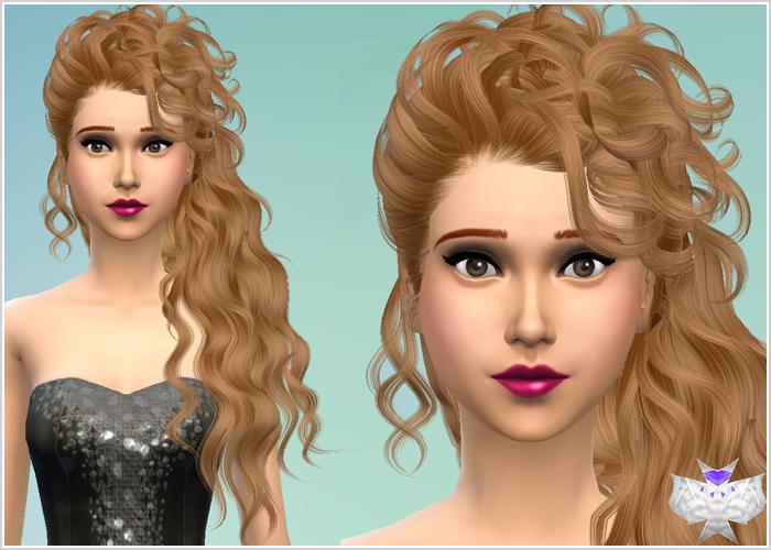 My Sims 4 Blog: David Sims Female Hair Conversions