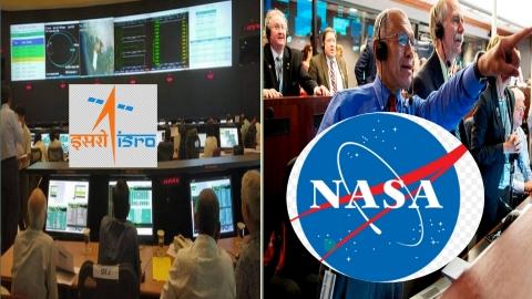 NASA AND ISRO
