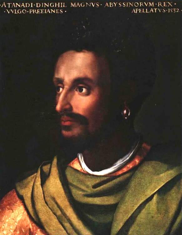 Emperor Lebna Dengel of Ethiopia