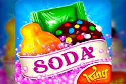 عبة Candy Crush Soda Saga آخر ألعاب الألغاز الأكثر شعبية والأجمل والممتعة التي تقدم من قبل شركة ألعاب King