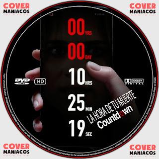 GALLETA LA HORA DE TU MUERTE-COUNTDOWN 2019[COVER DVD]