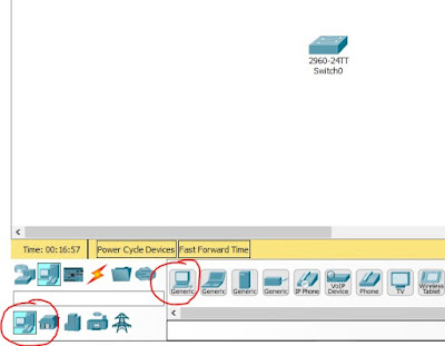 Packet Tracer configurar pc