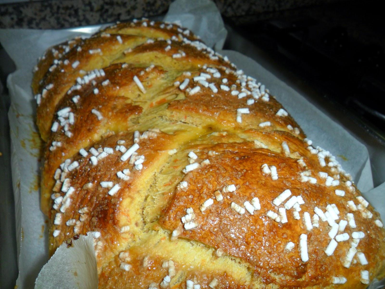 Ricette di cucina dolci pane lievitato  Pane alla zucca con lievito di birra e pasta madre