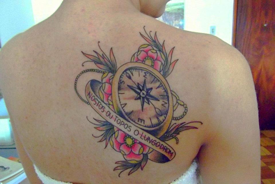 Joao tattoos b ssola for Tattoo bussola significato