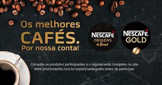 Promoção Os Melhores Cafés Por Nossa
