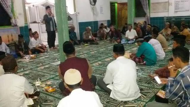 Tim Kecamatan SP Padang Gelar Safari Ramadhan Keliling Desa