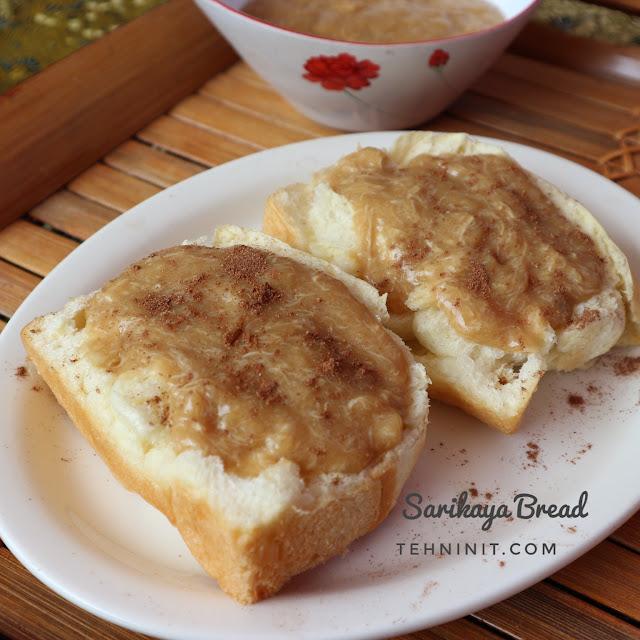 roti lembut berserat pakai mikser tangan