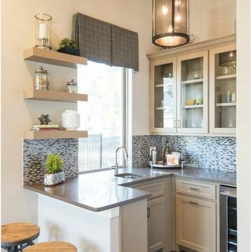 Desain Dapur Sederhana dan Mini Bar Terbaru