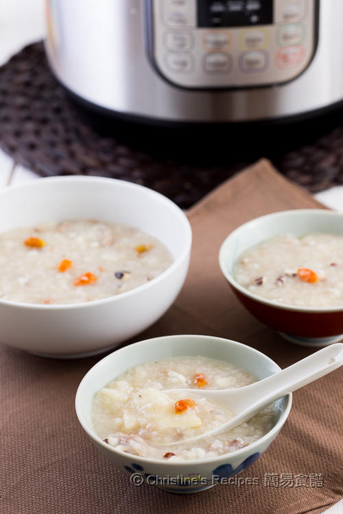 Chinese Yam, Goji and Pork Shin Congee02