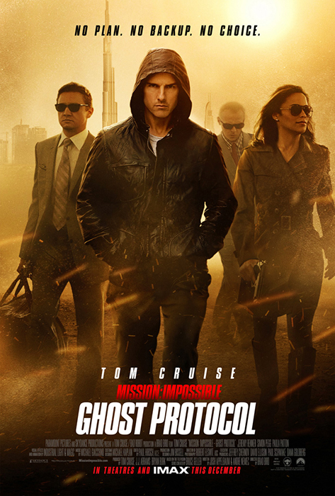 Poster Mission: Impossible Ghost Protocol