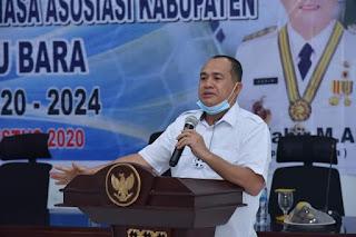 Bupati Zahir Hadiri Kongres Luar Biasa Askab PSSI Batubara