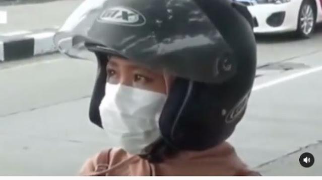 Wanita Nangis Diminta Putar Balik saat Mudik, Alasannya Bikin Polisi Luluh