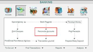 Cara Membuat Rekonsiliasi Bank Pada Program Myob