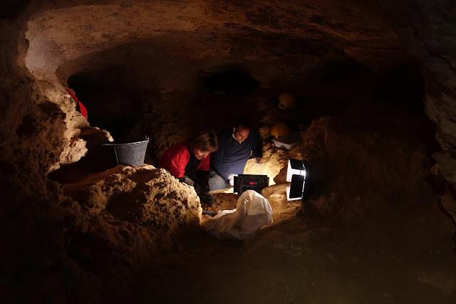 Central Iberia had a tundra-steppe landscape around 35,000 years ago