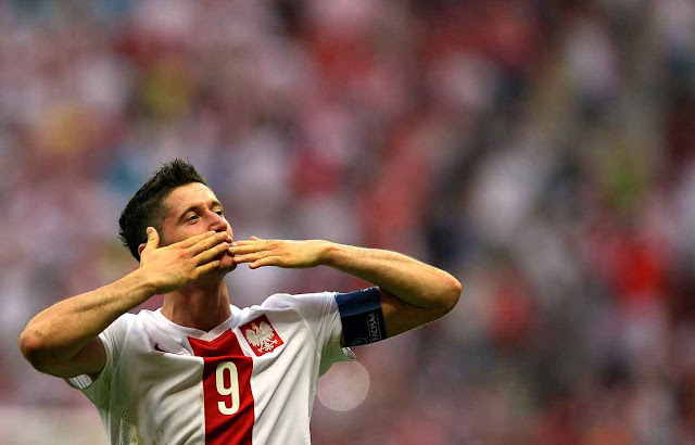 Robert Lewandowski Pologne Euro 2016