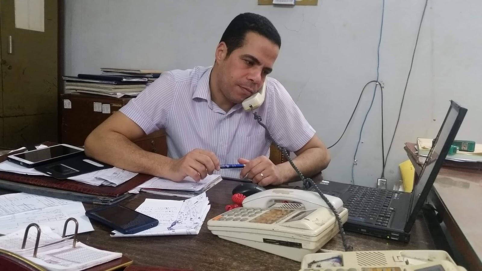 وسام شكر وعرفان للمهندس إسلام طعيمه
